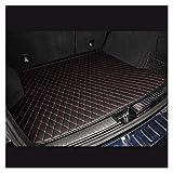Alfombra maletero coche Mats maletero del coche Fit for Audi A3 A1 Sportback Limusina A4 A5 A6 A7 A8 encargo de línea de carga, cargador del coche de línea, la estera del piso posterior del tronco