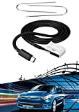 AUX Cable Adaptador de Interfaz de música 3,5 mm Aux-IN Entrada MP3 para Citroen C2 C3 C4 C6 C5 C8 Peugeot 207 307 407 con Blaupunkt VDO Bosch RD4