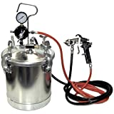 TCP Global Pressure Tank Paint Spray Gun...