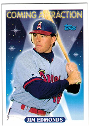 1993 Topps with Traded California Angels Team Set with Jim Edmonds RC & Tim Salmon - 30 MLB Cards