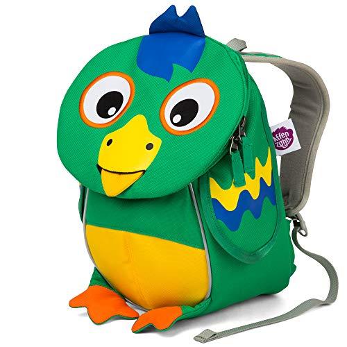 Affenzahn Kleine Freunde Kinderrucksack für 1-3 Jährige im Kindergarten Piet Papagei