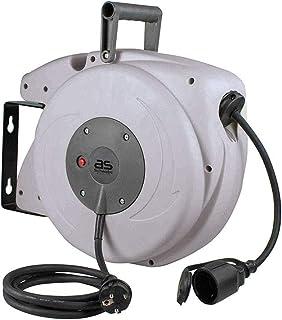 as - Schwabe Automatische kabelhaspel voor de werkplaats, met Easy to Go functie, 10 m kabel, 180 ° draaibare wandbevestig...