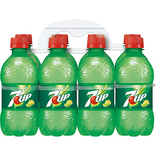 7UP Lemon Lime Soda, Naturally Flavored and Caffeine Free, 12 Fl Oz (pack of 8)