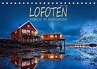 Lofoten - Inseln im Nordmeer (Tischkalender 2022 DIN A5 quer): Landschaften auf den Lofoten im Wandel der Jahreszeiten (Monatskalender, 14 Seiten )