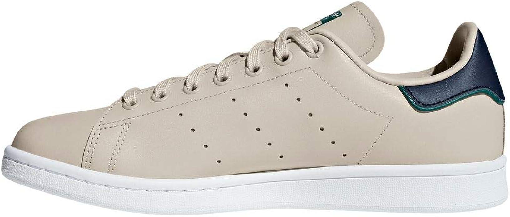 adidas Stan Smith Sneakers Beige Homme Originals : Amazon.fr ...