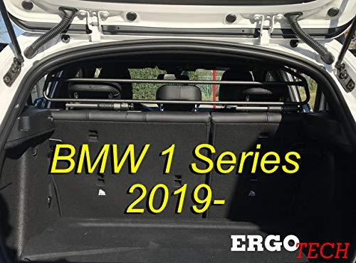ERGOTECH Trenngitter Hundegitter für BMW 1er RDA65HBG-2HXXS8, für Hunde und Gepäck. Sicher, garantiert!