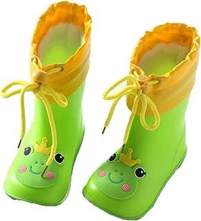 MEIGUIshop Rain Boots - Lightweight Non-Slip Waterproof rain Boots Rubber Shoes Overshoes