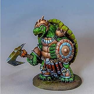 Turtle Warrior with Axe Miniature Critter Kingdoms Dark Sword Miniatures