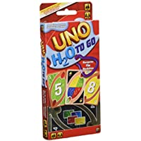Juegos Mattel-UNO H2O H20 To Go Juego de cartas, Multicolor, 7+ (P1703)