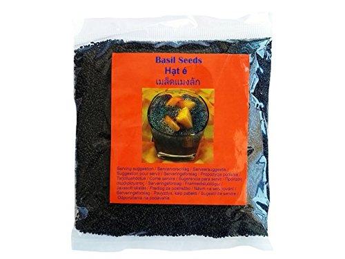 Basilikumsamen Basil seeds (Tukmariya)