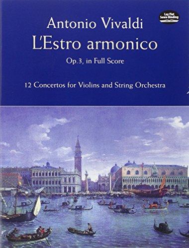 LESTRO ARMONICO OP 3 IN FULL S (Dover Music Scores)