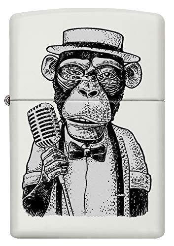 Zippo Vintage Monkey Design Encendedor, latón, 5,83,81,2