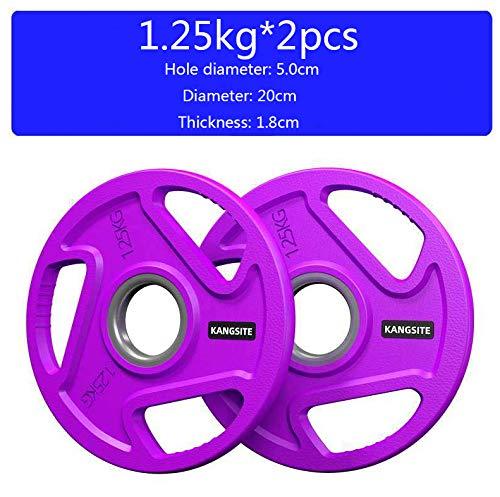 Hantelscheiben Ein Paar 1.25kg 2.5kg 5kg 10kg 15kg 20kg 25kg Guss Gewichte Hantel Set Gewichtsscheiben Gewichte Mit 50 Mm Bohrung,1.25kg*2