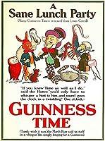 ERZAN大人の子供のおもちゃセーヌランチギネスビールアイルランドグレートブリテンヴィンテージ旅行アート創造的なギフト300ピース ジグソーパズル