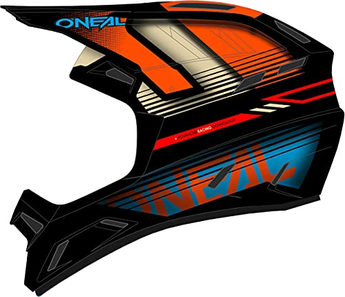 O'NEAL Fullfacehelm Backflip Eclipse, Orange Blau, XL, 0500-36E