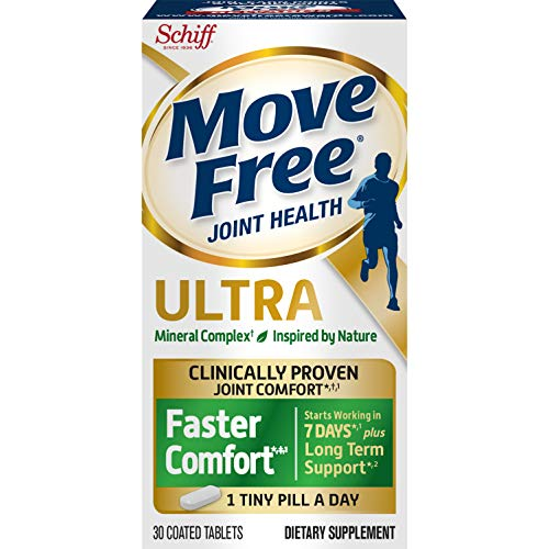 Schiff Move Free Ultra 2 in 1 with Comfort max 30 Count, White, 30 Count