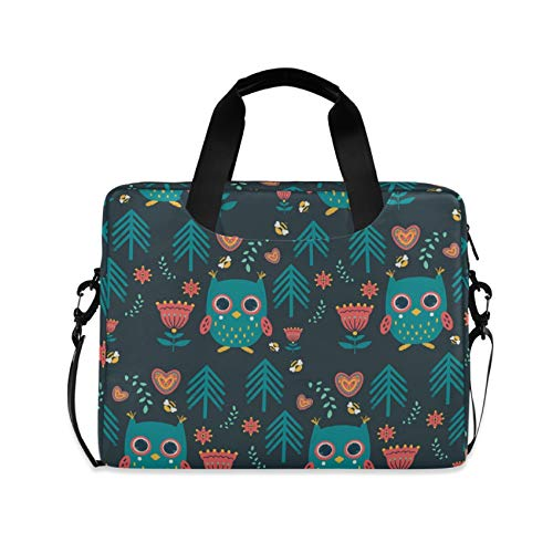 Cute Little Baby Owl 16 inch Laptop Shoulder Bag Travel Laptop Briefcase Carrying Messenger Bags