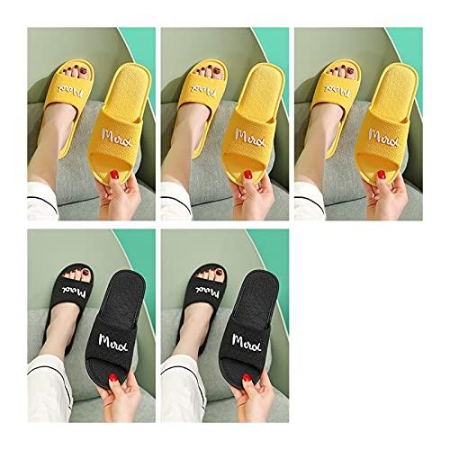 LDH 5 Pares de Sandalias de Piscina, Zapatillas de Baño de Desodorantes de Verano para Hombres Y Mujeres de Verano, Zapatillas Antideslizantes de Hospitalidad
