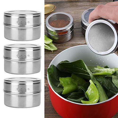 Biitfuu Accesorio de Cocina, pote de la Cocina de la Botella de la Especia de la Seguridad para la Cocina