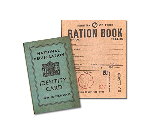 WW2 Replica Junior Ration Book and Identity Card