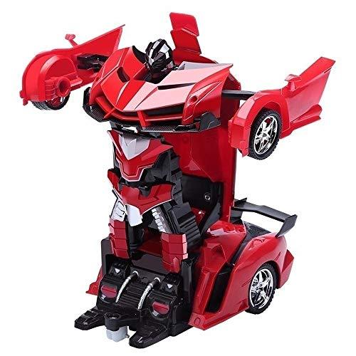 PETRLOY 1:12 RC Cars Deformación Autobots 2.4G One Touch Transformar recargable Drift...
