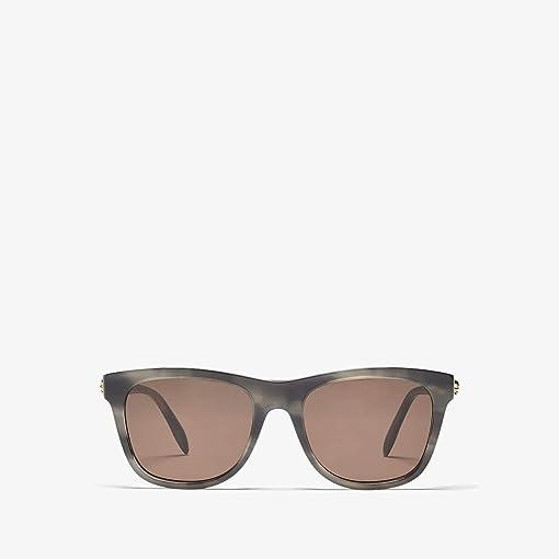 Shiny Melange Grey/Brown