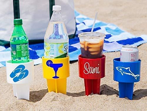 Custom Beach Drink Holders