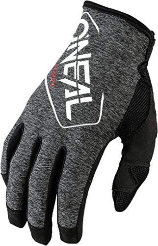 O'NEAL | Guanto Bike Motocross | MX MTB DH FR Downhill Freeride | Materiali durevoli e flessibili, palmo anteriore nano ventilato | Mayhem Glove Hexx | Adulto | Nero Bianco | Taglia M