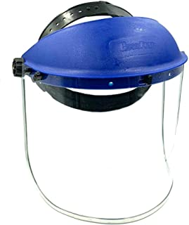 BRUFER 223102 Full Face Shield Mask for Grinding, Construction, General Manufacturing