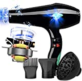 Dry Hair Dryer, Professional Hair Dryer 3000W Lightweight Quiet Salon Tools Powerful Cold