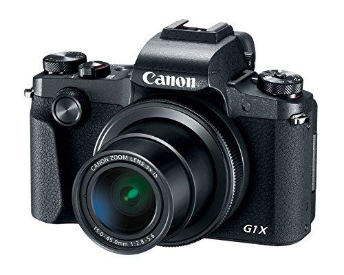 Canon PowerShot G1 X Mark III Digital Camera - Wi-Fi Enabled (Renewed)