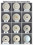 NLT Scodella per Animali Domestici Scaffale in bambù Ciotole in Ceramica per Gatti Alimentazione e abbeveraggio per Cani Ciotole per Gatti Accessori per Animali Domestici, Ciotola Singola, S