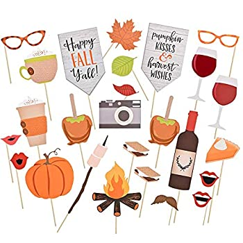 Best fall photo booth props Reviews