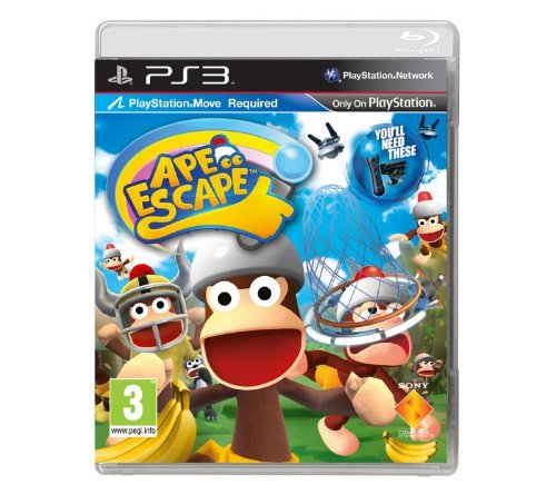 Ape Escape Requires PlayStation Move for PS3 Game
