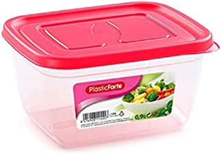 علبة حفظ طعام بينك من بلاستك فورت 11555