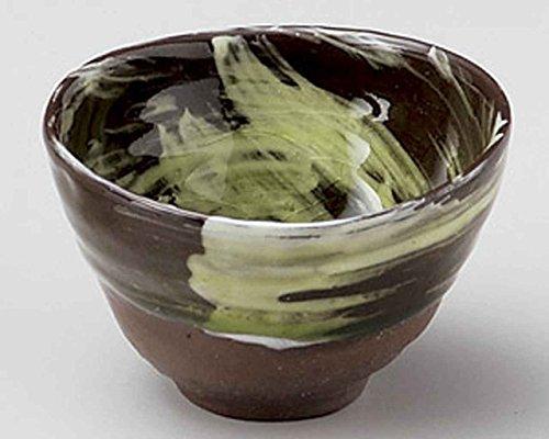 Shimizu 3.7inch Set of 2 Small Bowls Brown Ceramic Made in Japan