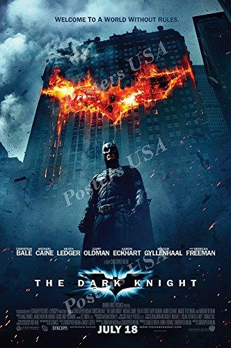 Posters USA DC The Dark Knight Batman Movie Poster GLOSSY FINISH - FIL207 (24' x 36' (61cm x 91.5cm))