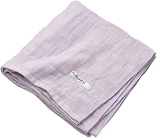 KUSUBASHI MON-ORI [Imabari Towel] KuSu POP paletone Triple Gauze Bath Towel, Purple (1-60070-11-PAP)