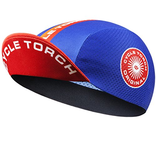 Cycle Torch Men's Cycling Cap, Polyester Breathable Helmet Liner Hat (Multicoloured)