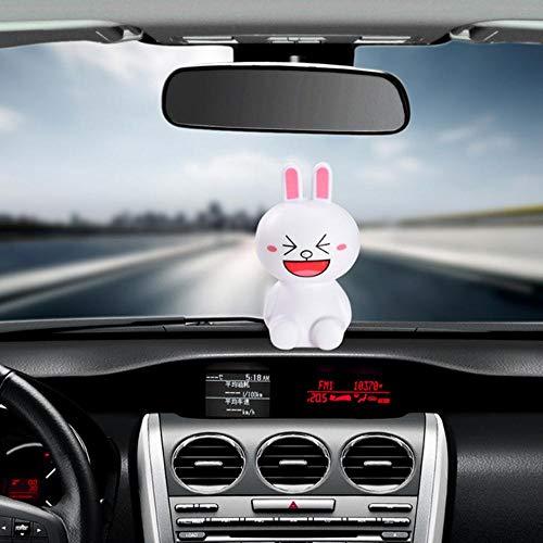 Kiu Auto-ornament schattige decoratie pvc-poppen, dashboard binnen, grappig comic, speelgoed mooi