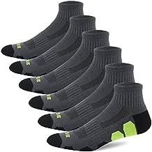BERING Men's Performance Athletic Ankle Running Socks (6 Pack)