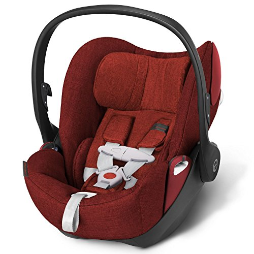 Buy Discount Cybex Cloud Q Plus Infant Car Seat Base with Load Leg – Hot & Spicy