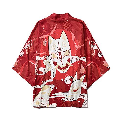 LAI MENG - Kimono para mujer (manga 3/4, talla 34-46) Estilo 56 Tallaúnica