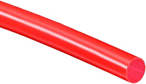 sourcingmap/® Tubo De 2 Metros De Long De Silicona 4mm x 6mm de silicona de alimentos de grado Tubo transl/úcido Cerveza de agua Manguera de aire 2 metros