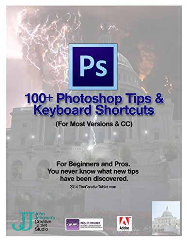 100 Photoshop Tips & Keyboard Shortcuts: All the tips you need to learn Photoshop quickly and easily. (English Edition)