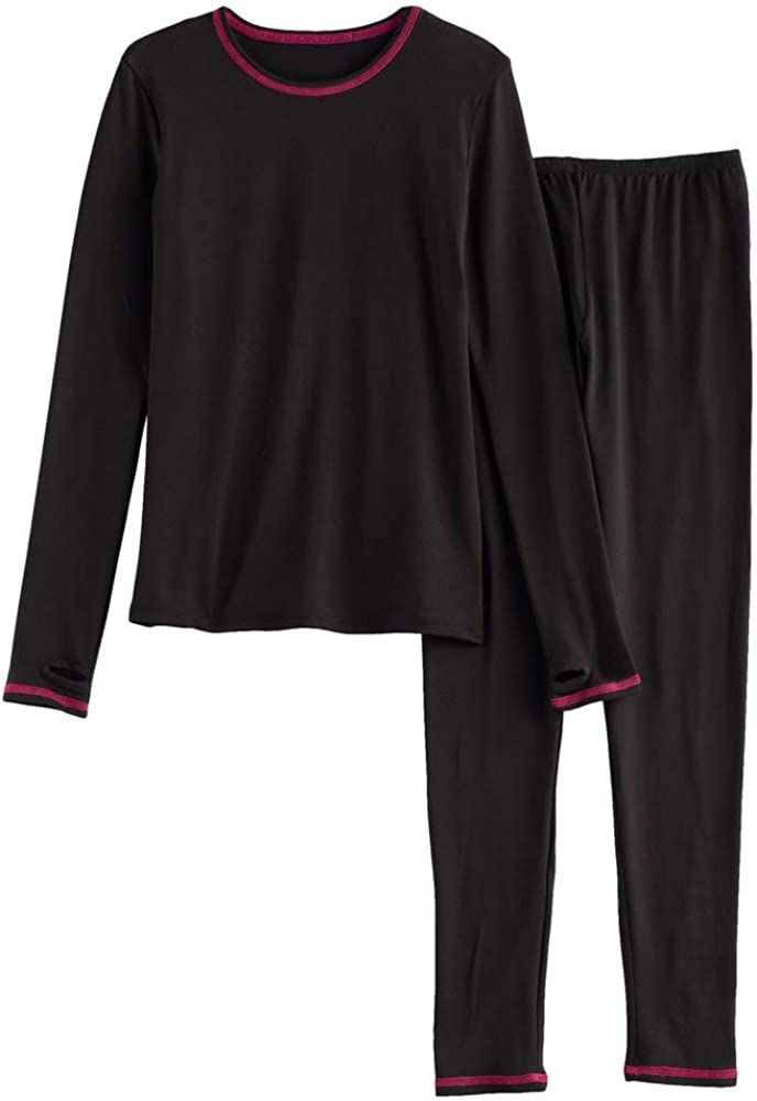 Assorted Colors and Sizes Details about  /Girls $20 Comfort-Fit Thermal Long Sleeve 2-Pc Set