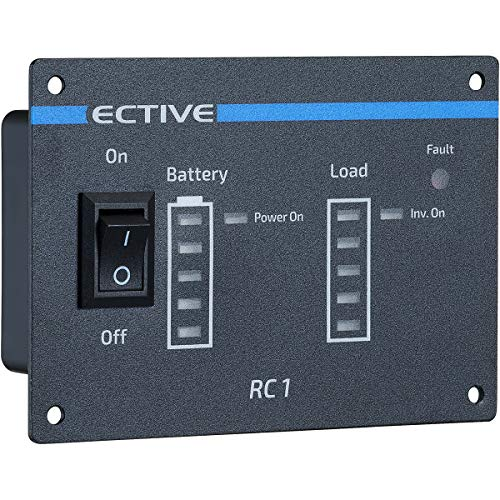 ECTIVE RC1 Fernbedienung mit Ladestandsanzeige für neuste Generation der ECTIVE SI/MI Wechselrichter