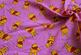 100% Baumwolle Stoff Material Disney Winnie the