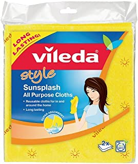 Vileda Style Sunplash All Purpose Cloths