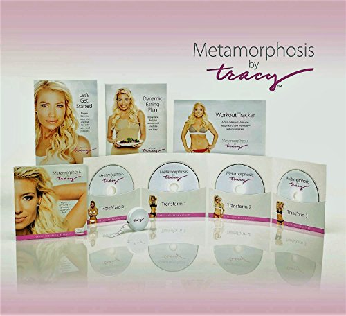 Tracy Anderson Metamorphosis Omnicentric 90-day Program - 4 DVDs (90-day coverage), Food Plan, Fitness Guide & Workout Tracker